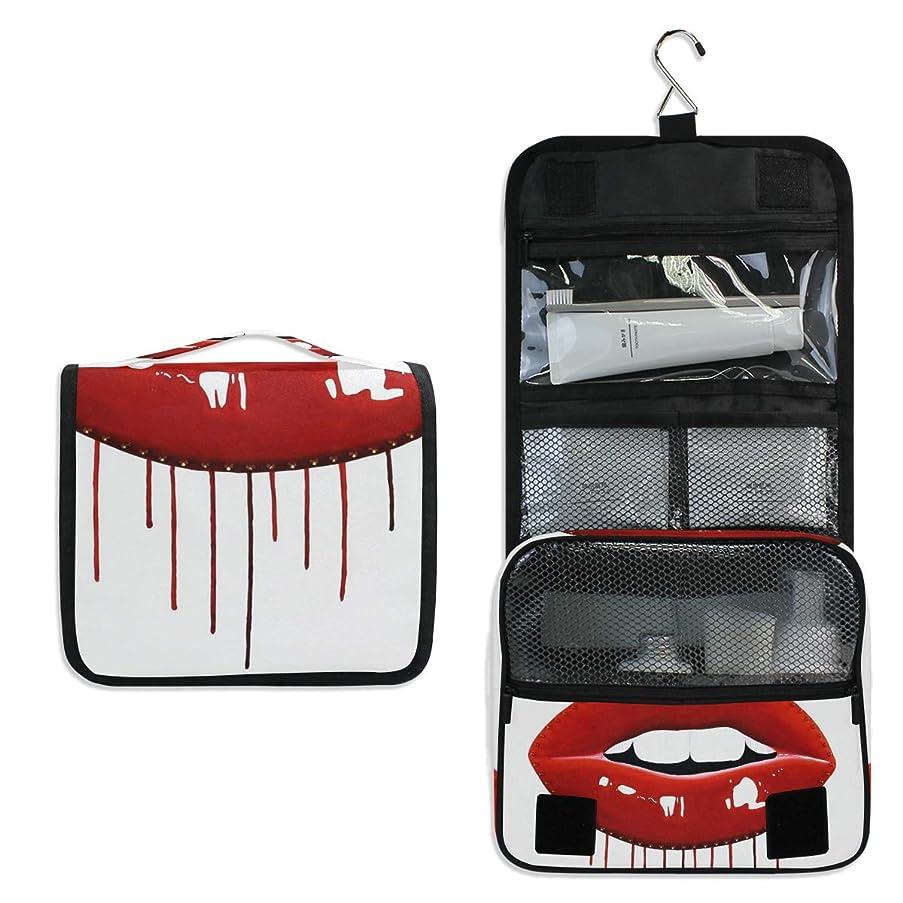 Makeup Bag Pop Art Lips Toiletry Bag Travel Cosmetic Organizer Waterproof Wash Bag for Men Women