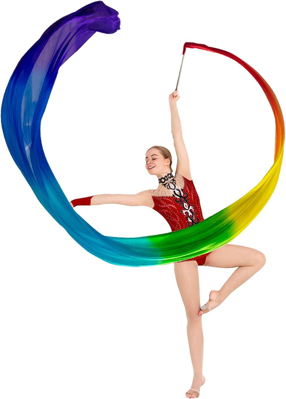 KIKIGOAL San Francisco Mall 16.4FT Dance Streamer 2021 Belly Ribbons Gymnastics Da
