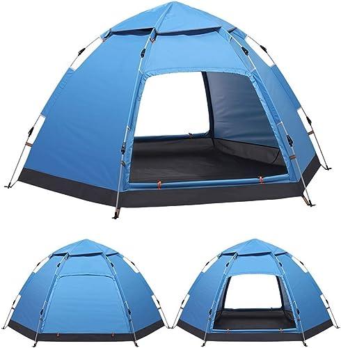 ABB Tente de Plage Pop Up Instantané en Plein Air Soleil Abri Easy Up Toit Abri De Plage pour Personne Anti UV Tente pour Plage Camping Pêche Randonnée Barbecue