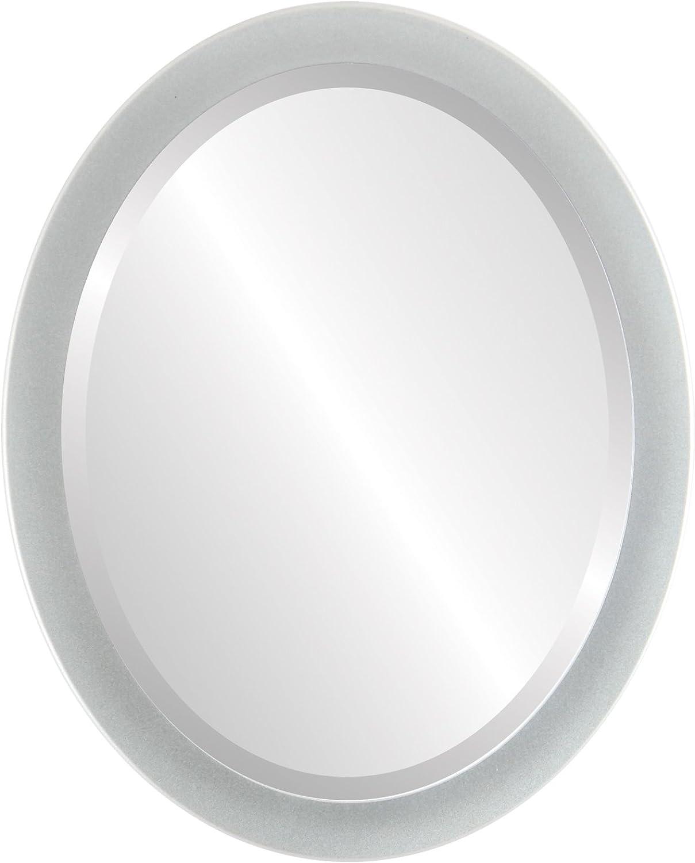 Vienna Oval in Bright Silver