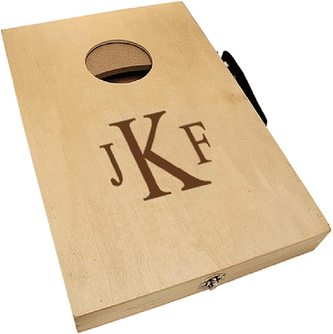 Executive Gift Shoppe Roman Today's only Game Cornhole Monogram Recommended Mini