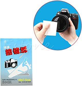 VAILANG 1piece Sheets Soft Camera Lens Optics Tissue Cleaning Clean Pa...