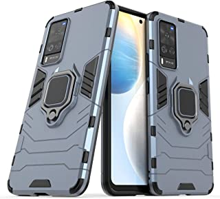 TenDll Case for RealmeX7Max5G,TPU&PC Hybrid Armor Case Removable 2 in 1 Rugged Double Case,Built-in Kickstand, Cover fo...