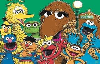 Sesame Street Group Poster 24x36