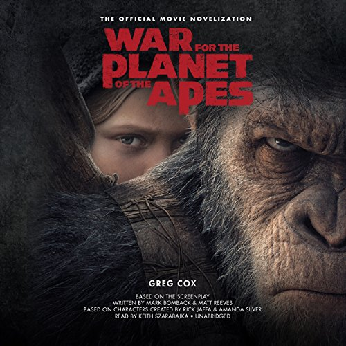 War for the Planet of the Apes audiobook cover art