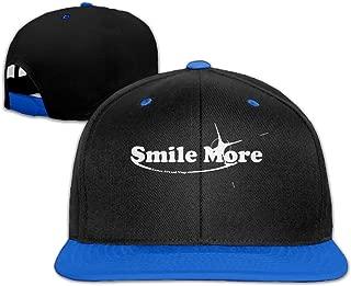 Unisex Fashion Smile More 1-1 Hip Hop Baseball Caps Snapback Hats