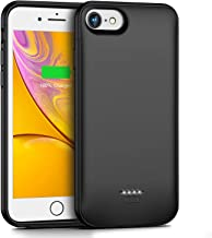 Swaller Battery Case for iPhone 6s 6,4000mAh Portable Protective Charging Case for iPhone 6 6s(4.7 inch) Battery Case, Extended Battery Pack Charger Case Compatible with iPhone 6s 6(Black)