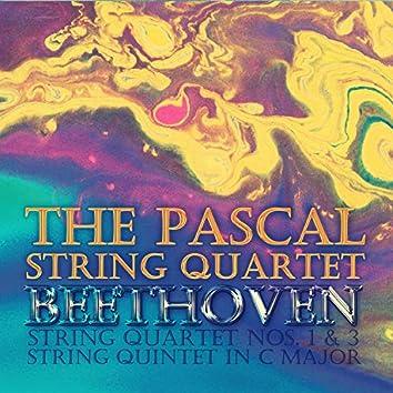 Beethoven: String Quartet, No. 1 & 3, String Quintet in C Major