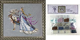 Cross Stitch Chart with Embellishment Pack ~ THE SNOW QUEEN