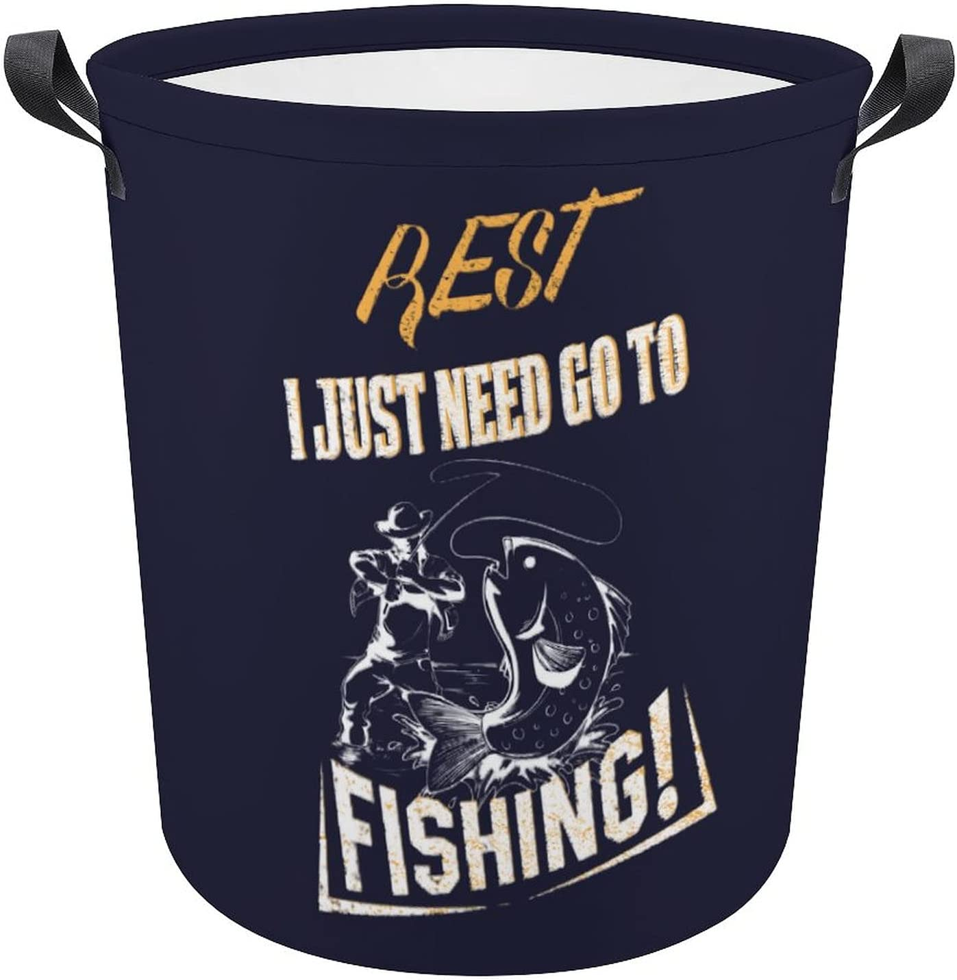 Funny Many popular brands Fishing Fans Fisher Excellent Saying Laundry Port Oxford Hamper Gift