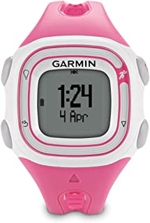 Garmin Forerunner 10 GPS Watch - Pink/White (Renewed)