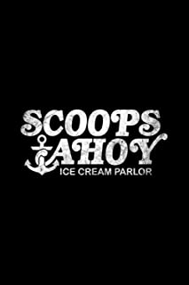 Scoops Ahoy Ice Cream Parlor Hoodie Notebook: Journal, Lined Notebook, 120 Blank Pages, Journal, 6x9 Inches, Matte Finish ...