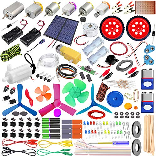 Kit4Curious STEM Learning Scientist Activity Kit -Tinkering Lab Science Fun Box with Booklet