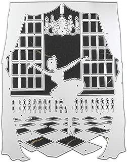 Jiken Pretty Ballet Girl Metal Cutting Dies Stencil Scrapbooking DIY Album Stamp Paper Art