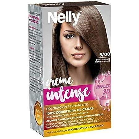 Nelly Set Tinte 5/00 Castaño Claro - 50 ml: Amazon.es: Belleza
