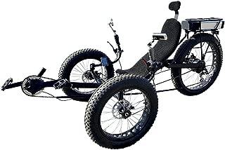 Fat Tire Electric Recumbent Tricycle, Recumbent Trike