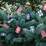 Flags on String - Scandinavian Countries - 2PK