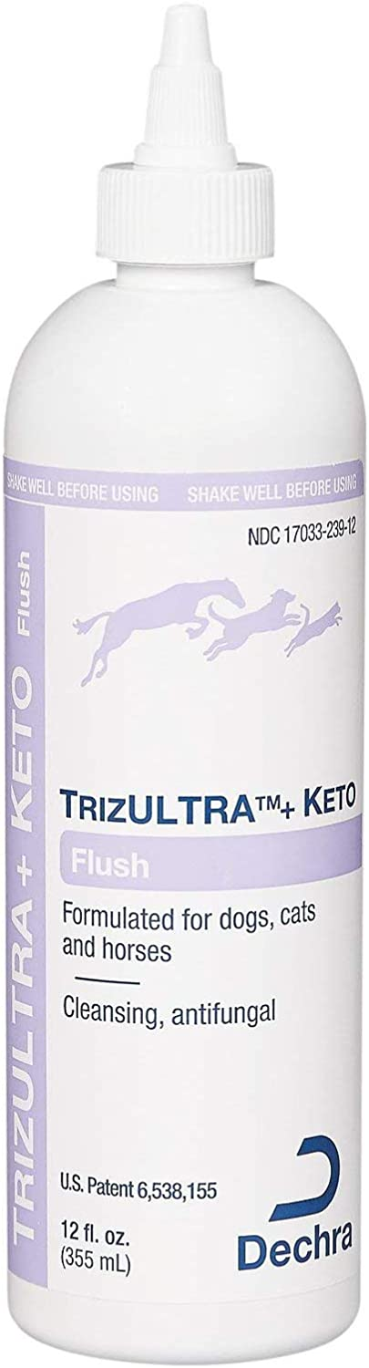 DechraTopical TrizULTRA + Keto Flush Excellence Horses Cats 12 Dogs Popular shop is the lowest price challenge for
