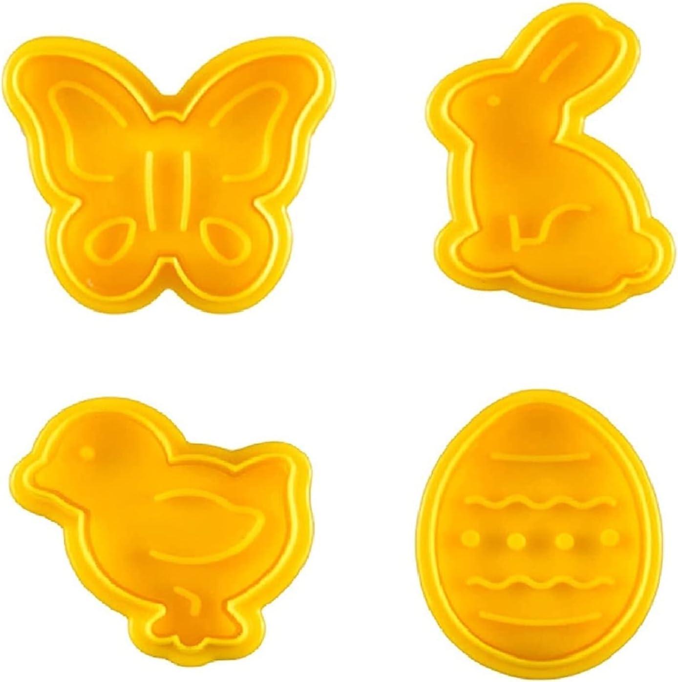 4 Pack Easter Cookie Cutters Financial Weekly update sales sale kit NI MI Metal