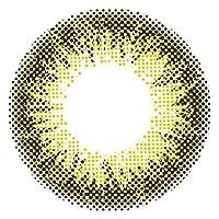 エンジェルカラー バンビシリーズ ヴィンテージ 1箱2枚入り(1ヶ月) ヴィンテージオリーブ 着色直径 13.4mm【PWR】±0.00(度なし)
