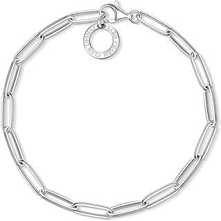 Thomas Sabo Femmes-Charm-Bracelet Charm Club Argent Sterling 925 X0253-001-21-L18,5