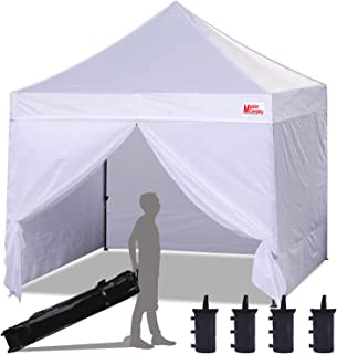 Best 10x10 ez up with sides Reviews