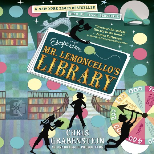 Escape from Mr. Lemoncello's Library cover art