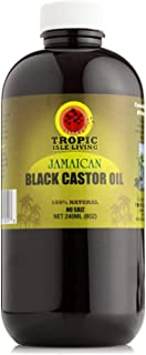 Tropic Isle Living – Jamaican Black Castor Oil – Plastic PET Bottle (8 ounce)