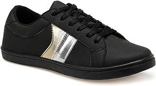 CS20028 Siyah Kadın Basic Casual Ayakkabı