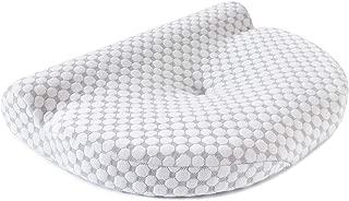 MyeFoam 枕 低反発まくら 肩こり対策 ネックフィット枕 頸椎サポート 健康枕 人間工学設計 ストレートネック矯正枕 いびき防止 頭痛改善 横向き寝対応 安眠 通気性抜群 洗える ピロー
