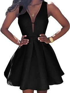 VinBridal Simple Little Homecoming Dress Short Sleeveless Ball Gown Prom Dresses