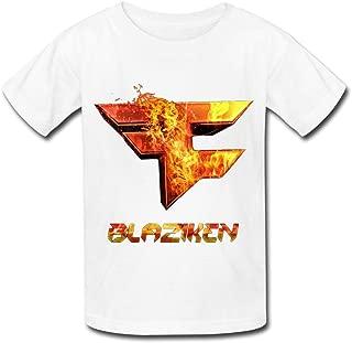Kazzar Kid's Faze Clan Blaziken Round Collar T Shirt