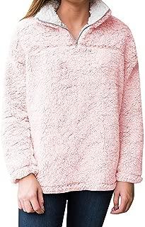 Best pink sherpa quarter zip hoodie Reviews