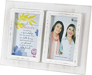Dicksons Soul Sisters Friendship One Heart 11.5 x 8.5 Wood Photo Frame Plaque