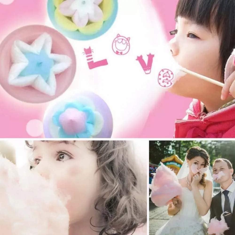 Uttalizare Regolare Zucchero o Caramelle Senza Zucchero 500W ,Colore Multiplo Bnoeo Macchina per Zucchero Filato Retro Cotton Candy Machine per Casa