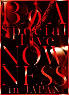 BoA Special Live NOWNESS in JAPAN(DVD2枚組+スマプラ)
