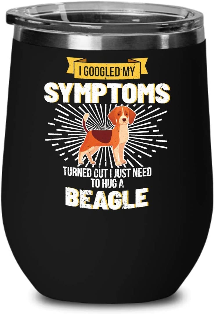 I Need To Hug A Beagle Dog Wine Glass Wine Glasses
