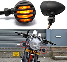 Justech 4PCS 12V Luz Intermitente de la Motocicleta LED Carga Resistor Indicador Flash Intermitente Error de Reparaci/ón 25W 6.8Ohm