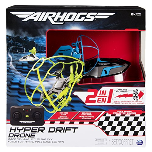 Air Hogs - Hyper Drift Drone, Colori Assortiti, 6040078