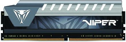 Patriot Memory Viper Elite Series 16GB DDR4 2666MHz módulo de - Memoria (16 GB, 1 x 16 GB, DDR4, 2666 MHz, 288-pin DIMM, Negro, Gris)