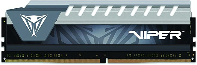 Patriot Viper Elite 8GB 2400MHz CL 16 Single Channel DDR4 PC Memory Module Grey