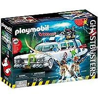 PLAYMOBIL Ghostbusters Ecto-1 con Módulo de Luz y Sonido, a Partir de 6 Años (9220)