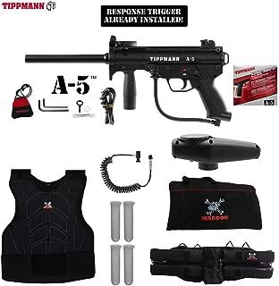 MAddog Tippmann A5 A-5 Sergeant Paintball Gun Package