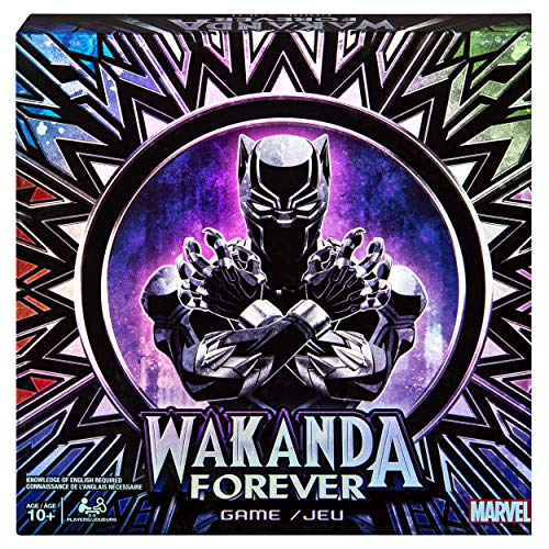 Marvel Wakanda Forever Black Panther Dice-Rolling Game for Families, Teens & Adults