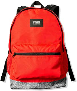 Victorias Secret Pink Campus Backpack 2019 Edition (Neon Candy Coral)