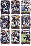 New England Patriots 2014 Topps NFL Football Complete Regular Issue 14 Card Team Set Including Tom Brady, Rob Gronkowski, Darrelle Revis, Julian Edelman, Jim... rookie card picture