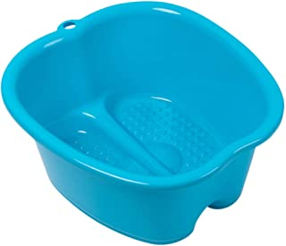 Foot Soaking Bath Basin – Large Size for Soaking Feet   Pedicure and Massager Tub for at Home Spa Treatment   Callus, Fung...