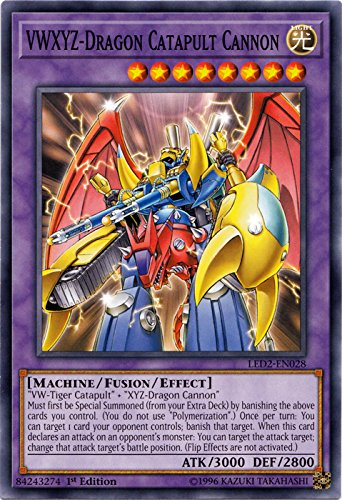 VWXYZ-Dragon Catapult Cannon - LED2-EN026 - Common - 1st Edition - Legendary Duelists: Ancient Millennium (1st Edition)