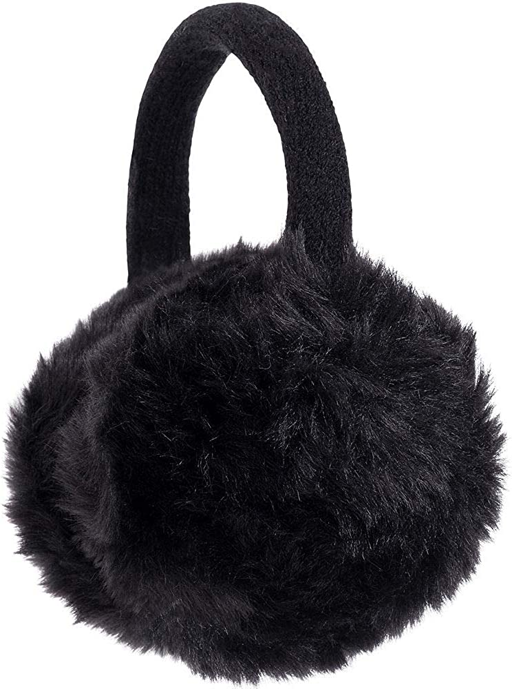 HollyDel Christmas Socks and Scarves; Black Faux Fur Ear Muffs