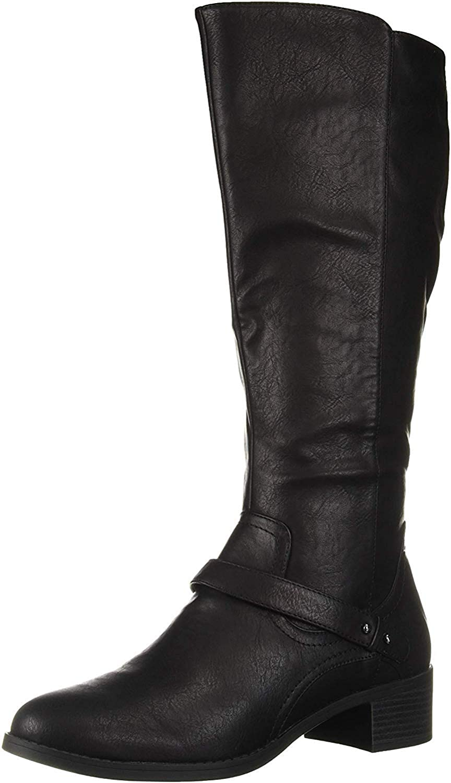 Easy Street 期間限定送料無料 Women's 定番キャンバス Jewel Mid Boot Calf